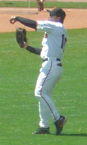 Dave Roberts (outfielder) - Roberts playing for the San Francisco Giants