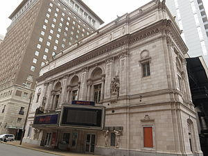 Orpheum Theater (St. Louis) - Image: Roberts Orpheum Theater 2012