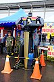 Robot Statue at ROCA 5th District Support Command Recruitment Booth 20150606.jpg