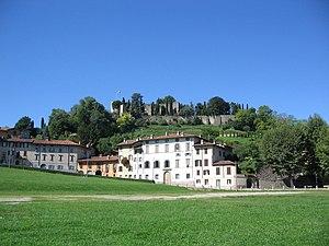 Colle S. Eufemia, la Rocca e il Mastio