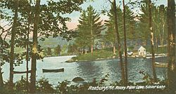 Ellis Pond in 1906