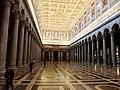 Roma, Basilica di San Paolo Fuori le Mura, interno (6).jpg