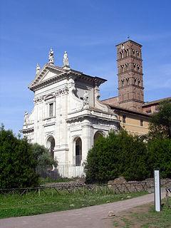 Santa Francesca Romana, Rome Church in Italy