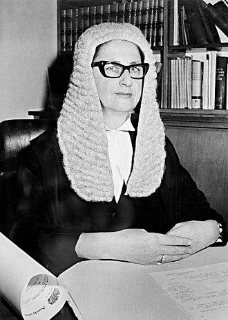 Roma Mitchell - Mitchell in 1965
