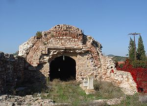 Traianoupoli - Hana is an impressive baths building of the Roman period, renovated by the Ottoman Gazi Evrenos.