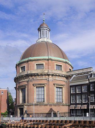 Adriaan Dortsman - Image: Ronde Lutherse Kerk 2482
