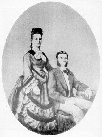 Ida Straus - Wedding portrait