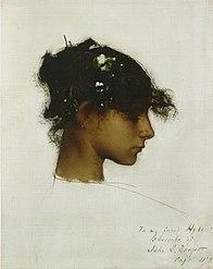 Rosina Ferrara de John Singer Sargent