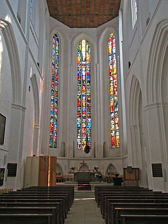 St. Peter's Church, Rostock - Interior