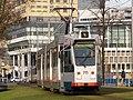 Rotterdam tram RET 715 pic1 Type ZGT-6 made by Düwag Düsseldorf.JPG
