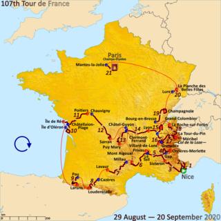 2020 Tour de France cycling race