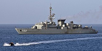 Royal Saudi Navy - Image: Royal Saudi Navy Al Madinah class Frigate 2(1)