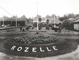 Glebe, New South Wales - Rozelle Tram Depot c. 1929