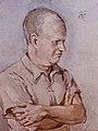 Rudolf Heinisch, Portrait Paul Hindemith, o.J., Öl auf Leinwand.jpg