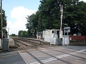 Rufford railway station - Image: Rufford rail station 02