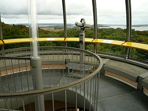 Rugard - Viewing platform of the Ernst Moritz Arndt Tower