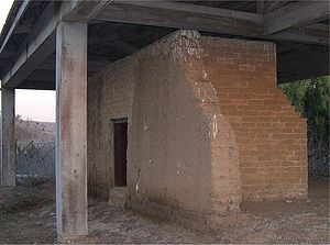 Francisco María Ruiz - Ruins of Ruiz-Alvarado adobe, built 1824