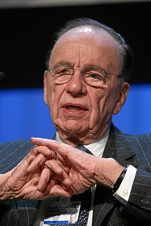 Hitler Diaries - Rupert Murdoch, the owner of The Sunday Times, in 2007
