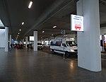 Ruzyně, letiště, terminál 2, minibus k parkingu D (01).jpg