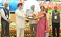 "S.S. Ahluwalia presenting the awards, at an event to mark the Swachh Bharat Diwas the 3rd anniversary of the launch of Swachh Bharat Mission and the conclusion of ""Swachhata hi Sewa"" fortnight, in New Delhi (2).jpg"