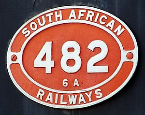 South African Class 6A 4-6-0