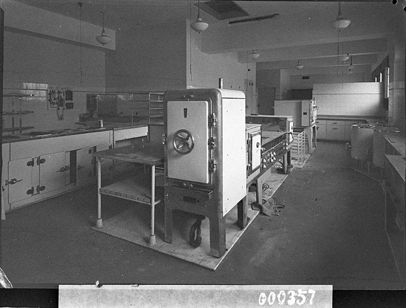 File:SLNSW 12888 Kitchen in new post office taken for Building Publishing Co.jpg