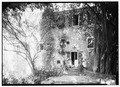 SOUTHWEST SIDE, GARDEN ENTRANCE - Bjerget, 56-58 Hill Street, Christiansted, St. Croix, VI HABS VI,1-CHRIS,11-4.tif