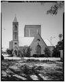 SOUTH FACADE - Saint James Episcopal Church, 208 North Fourth Street, Baton Rouge, East Baton Rouge Parish, LA HABS LA,17-BATRO,10-2.tif