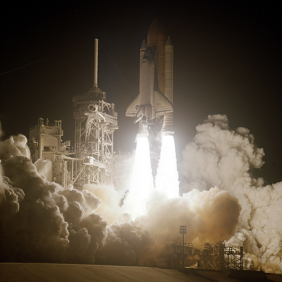 STS-109 launch