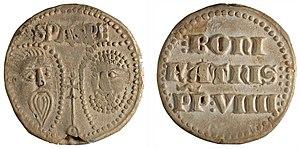 Pope Boniface IX -  Papal bulla of Boniface IX