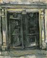 SaekiYūzō-1928-Door.png