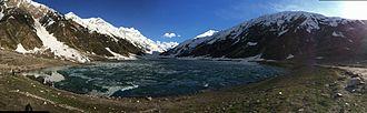 Saiful Muluk - Saif-ul-Muluk panorama in spring