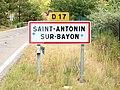 Saint-Antonin-sur-Bayon-FR-13-panneau d'agglomération-01.jpg