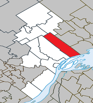 Saint-Barthélemy, Quebec - Image: Saint Barthélemy Quebec location diagram