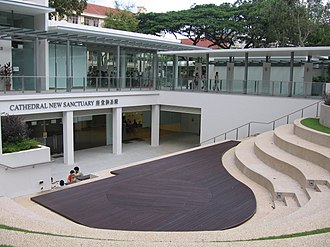 St Andrew's Cathedral, Singapore - The Cathedral's new extension