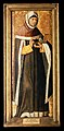 Saint Cosmas. Oil painting by the Artés Master, ca. 1500. Wellcome V0017391EL.jpg