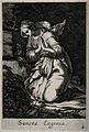 Saint Eugenia. Line engraving. Wellcome V0031942.jpg
