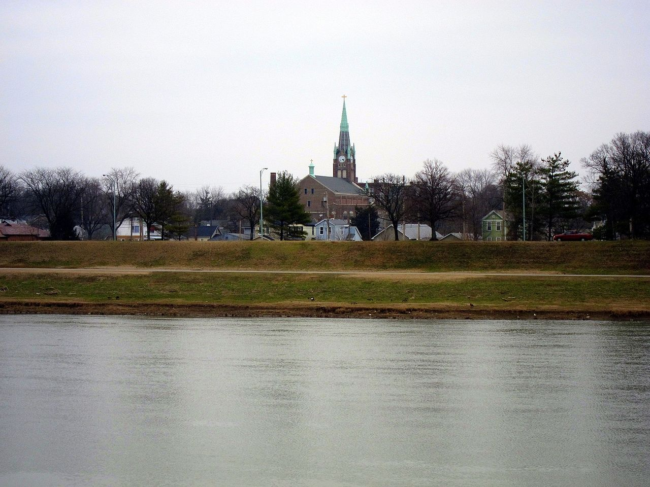 Parish (hamilton, ohio), from west bank of the great miami river