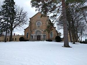 Saint Paul Seminary School of Divinity - Chapel from Summit Avenue