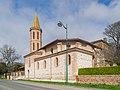 Saint Sabinus church in Monbrun 02.jpg