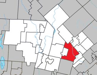 Sainte-Agathe-des-Monts - Image: Sainte Agathe des Monts Quebec location diagram
