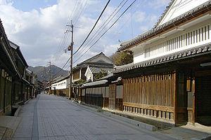 Akō, Hyōgo - Main street in Sakoshi