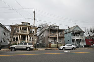 Point Neighborhood Historic District - Congress Street scene