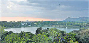 Salim Ali Lake - Image: Salim Ali Lake