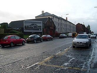 Tollcross, Glasgow - Tollcross road