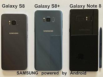Samsung Galaxy - Samsung Galaxy smartphones