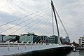 Samuel Beckett Bridge & River Liffey, Dublin (507019) (22840045028).jpg