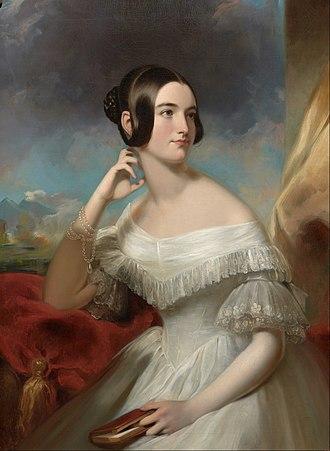 Samuel Waugh - Image: Samuel Bell Waugh Miss Jane Mercer Google Art Project
