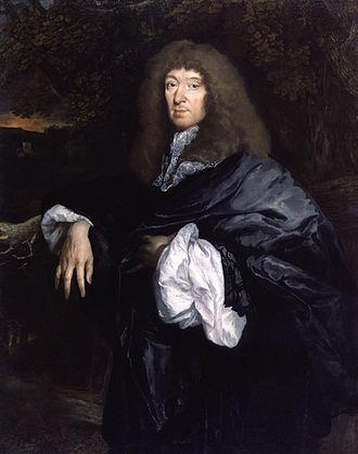 Samuel Butler (poet) - Portrait of Samuel Butler by Pieter Borsseler