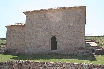 Vista desde el exterior de la ermita